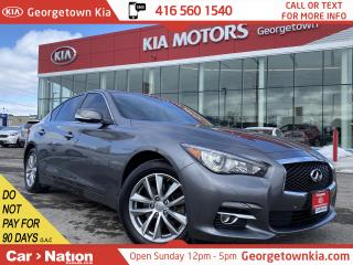 Used 2016 Infiniti Q50 2.0t | CLEAN CARFAX | ONLY 39,479KMS|NAVI |360 CAM for sale in Georgetown, ON
