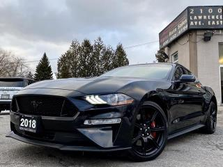 Used 2018 Ford Mustang GT Fastback 5.0 *6 Speed* for sale in Scarborough, ON