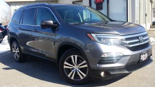 Used 2016 Honda Pilot EXL 4WD - LEATHER! BACK-UP/BLIND-SPOT CAM! 8 PASS! for sale in Kitchener, ON