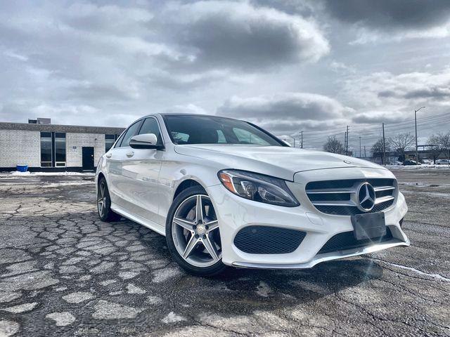 2017 Mercedes-Benz C-Class C300 4MATIC Sedan| AMG Package| LED Intelligent Lighting System| SLIDING PANO SUNROOF |BACKUP CAMERA | CLEAN CARFAX