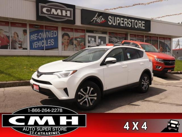 2017 Toyota RAV4 AWD LE  AWD REAR-CAM HTD-STS BLUETOOTH