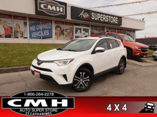 Used 2017 Toyota RAV4 AWD LE  AWD REAR-CAMERA HTD-SEATS BT for sale in St. Catharines, ON