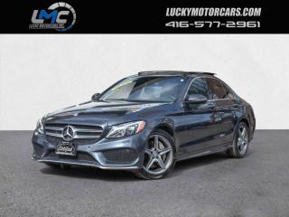 Used 2016 Mercedes-Benz C-Class C300 4MATIC AMG SPORT PKG-PANO-CAMERA-PARKTRONIC-NAVI-70KMS for sale in Toronto, ON
