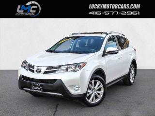 Used 2014 Toyota RAV4 LIMITED AWD-LEATHER-SUNROOF-BACKUP CAM-NAVI-90KMS for sale in Toronto, ON