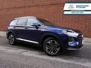 Used 2019 Hyundai Santa Fe ULTIMATE PKG | LOW KMS | NAV | ADAPTIVE CRUISE for sale in Brantford, ON