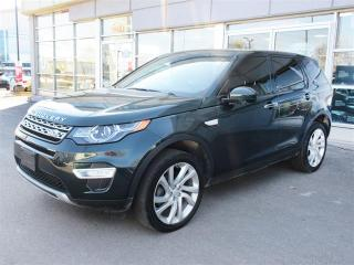 Used 2016 Land Rover Discovery Sport HSE LUXURY 7 Seater/NAV/Leather/Panoramic Sunroof for sale in Mississauga, ON