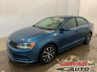 Used 2016 Volkswagen Jetta 1.8T Comfortline Mags Toit Ouvrant for sale in Trois-Rivières, QC