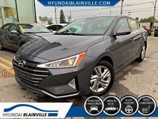 Used 2020 Hyundai Elantra PREFERRED, AUTO, APPLE CARPLAY, VOLANT C for sale in Blainville, QC