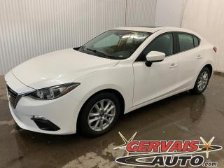 Used 2016 Mazda MAZDA3 GS Mags Caméra de recul Toit ouvrant for sale in Trois-Rivières, QC
