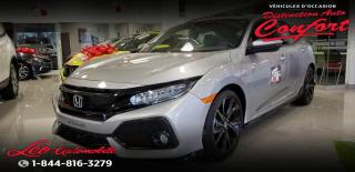Used 2018 Honda Civic Sport Touring CVT for sale in Chicoutimi, QC