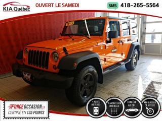 Used 2012 Jeep Wrangler UNLIMITED* SPORT* 4X4* MANUELLE* for sale in Québec, QC