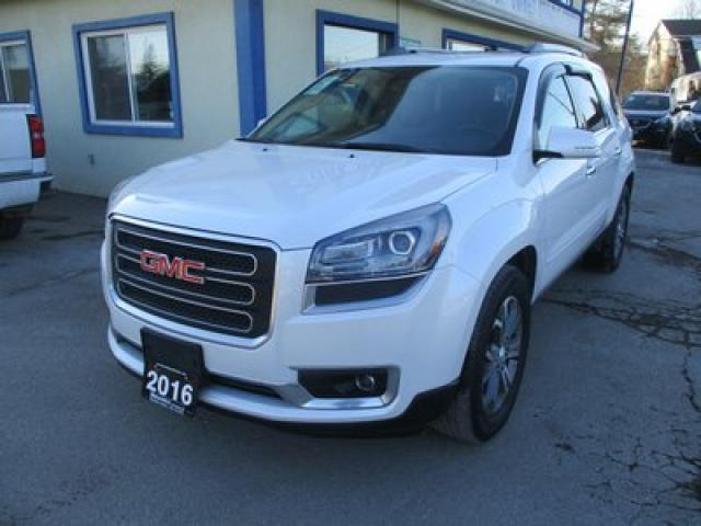 2016 GMC Acadia ALL-WHEEL DRIVE SLT-2 EDITION 7 PASSENGER 3.6L - V6.. CAPTAINS.. THIRD ROW.. NAVIGATION.. LEATHER.. HEATED/AC SEATS.. DUAL SUNROOF.. BACK-UP CAMERA..