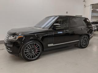 Used 2016 Land Rover Range Rover SUPERCHARGED/AUTOBIOGRAPHY/MASSAGE SEATS/DVD! for sale in Toronto, ON