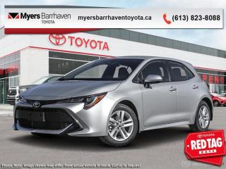 New 2020 Toyota Corolla Hatchback SE  - Navigation - $178 B/W for sale in Ottawa, ON