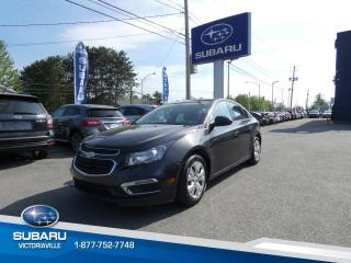 Used 2015 Chevrolet Cruze 1LT ** AIR CLIMATISÉ for sale in Victoriaville, QC