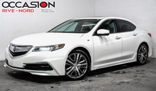 Used 2016 Acura TLX Tech V6 SH-AWD A-Spec NAVI+CUIR+TOIT.OUVRANT for sale in Boisbriand, QC