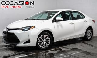 Used 2018 Toyota Corolla LE SIEGES.CHAUFFANTS+BLUETOOTH+CAM.RECUL for sale in Boisbriand, QC