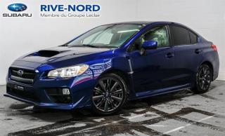 Used 2015 Subaru WRX MAGS+SIEGES.CHAUFFANTS+BLUETOOTH for sale in Boisbriand, QC