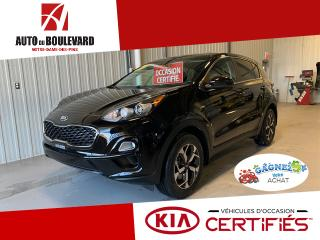Used 2020 Kia Sportage LX AWD SEULEMENT 1600KM WOW for sale in Notre-Dame-des-Pins, QC