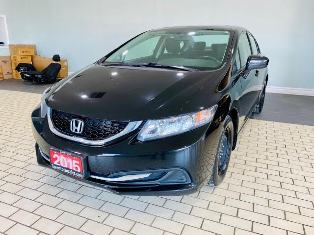 2015 Honda Civic EX/SUNROOF/PUSH START/SIDE & REAR-VIEW CAMERA
