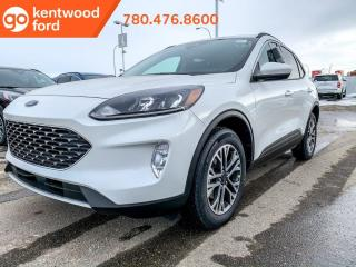 New 2020 Ford Escape 1.5L ecobost, SEL AWD, 301A, heated front seats, heated steering wheel, remote vehicle start, reverse camera system, reverse sensing system, lane keeping system for sale in Edmonton, AB