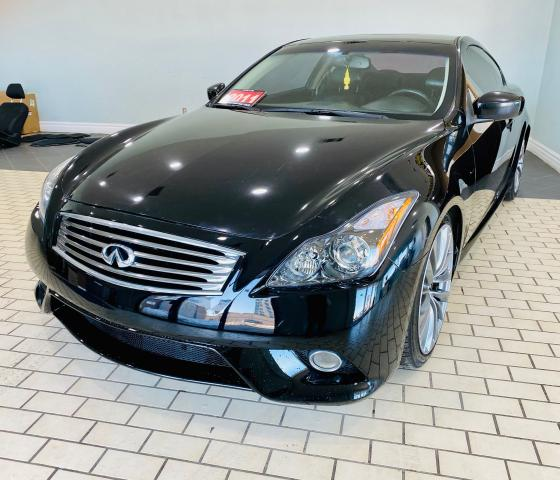 2011 Infiniti G37 Sport/Manual/Coupe/Navi/Leather