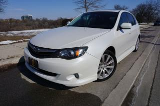 Used 2010 Subaru Impreza MANUAL / LEATHER / SPORT PACKAGE / NO ACCIDENTS for sale in Etobicoke, ON