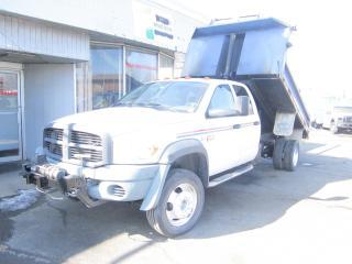 Used 2009 Dodge Ram 5500 4x4 4 door 11ft dump diesel for sale in North York, ON