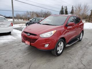 Used 2011 Hyundai Tucson GLS LEATHER SUNROOF for sale in Stouffville, ON