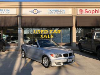Used 2008 BMW 1 Series 128i Convertible, Auto, Only 102K for sale in Vaughan, ON