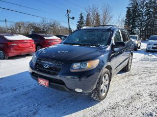 Used 2007 Hyundai Santa Fe GL Premium w/LEATHER SUNROOF for sale in Stouffville, ON