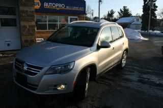 Used 2010 Volkswagen Tiguan COMFORTLINE for sale in Nepean, ON