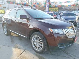 Used 2011 Lincoln MKX AWD-LEATHER-SUN MOON ROOF-NAVI-BK UP CAM-ALLOYS for sale in Scarborough, ON