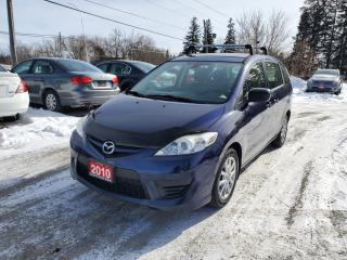 Used 2010 Mazda MAZDA5 GS 6 PASSENGERS CERTIFIED for sale in Stouffville, ON