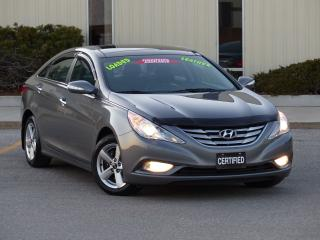 Used 2012 Hyundai Sonata LEATHER,LIMITED,PANORAMIC SUNROOF,FULLY LOADED,99K for sale in Mississauga, ON