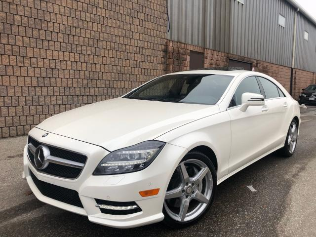2014 Mercedes-Benz CLS-Class CLS550 4MATIC-AMG PKG-NAVI-CAMERA-DRIVER ASSIST