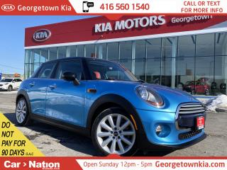 Used 2015 MINI Cooper Hardtop 5DR | NAVI | LEATHER | DUAL ROOF | MANUAL|12,019KM for sale in Georgetown, ON
