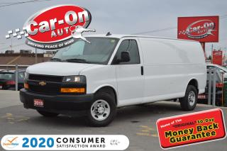 Used 2019 Chevrolet Express 2500 Work Van REAR CAM TOW PKG A/C PWR GRP for sale in Ottawa, ON