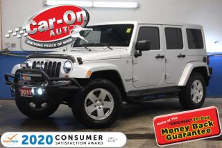 Used 2011 Jeep Wrangler Unlimited Sahara 90,000 KM AUTO A/C LOTS OF UPGRADES for sale in Ottawa, ON