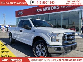Used 2017 Ford F-150 XLT | 4X4 | SUPERCAB | 6 PASS | B/U CAM | 3.5L V6 for sale in Georgetown, ON