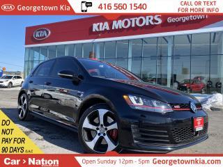 Used 2015 Volkswagen GTI DSG Performance | 5DOOR | NAVI | LEATHER | ROOF | for sale in Georgetown, ON