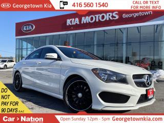 Used 2016 Mercedes-Benz CLA-Class CLA 250 | LEATHER | HEATED SEATS | BLUETOOTH | for sale in Georgetown, ON