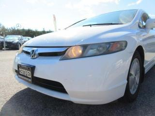 Used 2007 Honda Civic Hybrid ACCIDENT FREE for sale in Newmarket, ON