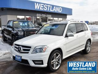 Used 2012 Mercedes-Benz GLK-Class 350 AWD for sale in Pembroke, ON
