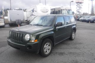 Used 2008 Jeep Patriot Sport 4WD for sale in Burnaby, BC