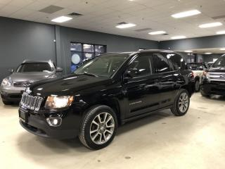 Used 2014 Jeep Compass LIMITED*NO ACCIDENTS*LOW KM*CERTIFIED* for sale in North York, ON