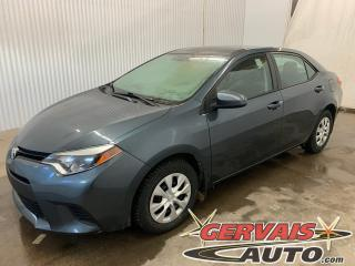 Used 2015 Toyota Corolla CE AUTOMATIQUE A/C BLUETOOTH for sale in Trois-Rivières, QC