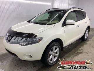Used 2010 Nissan Murano SL AWD MAGS TOIT PANORAMIQUE CAMÉRA DE RECUL BLUETOOTH SIÈGES CHAUFFANTS for sale in Shawinigan, QC