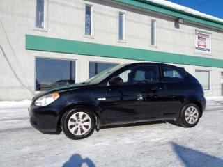 Used 2007 Hyundai Accent Hayon 3 portes, boîte automatique, GS for sale in St-Jérôme, QC