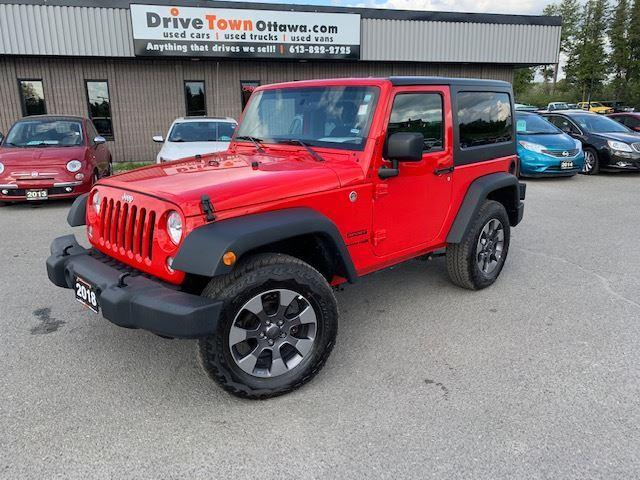2018 Jeep Wrangler SPORT 4X4 **AUTO**A/C**90 Days no Payments**